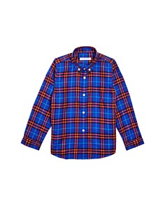 Burberry - Boys' Flannel Check Shirt- Little Kid, Big Kid